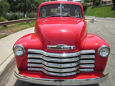 1951 chevy 3100 pickup deluxe 5 window cab all original for 1951 gmc 5 window pickup