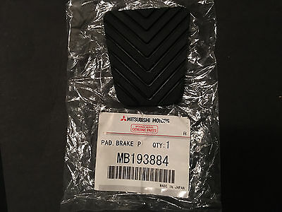 Mitsubishi OEM Brake Clutch Pedal Pad 3000GT Lancer Eclipse Mirage Montero New