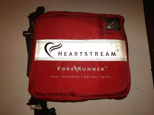 Heartstream ForeRunner Semi-Automatic AED with soft case unused...