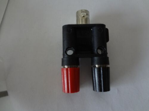 POMONA 1452 Adapter Connector BNC Female To Binding Post, Double