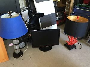 Computer monitor/table lamps
