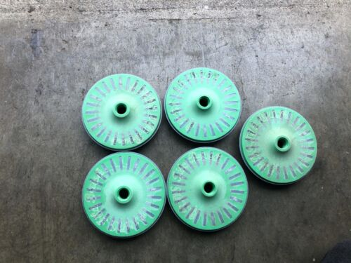 3m Bristle Disc, 4.5 In Dia, 3/4 In Trim, 100 Grit, 5/8 arbor, 5 pc Rebranded