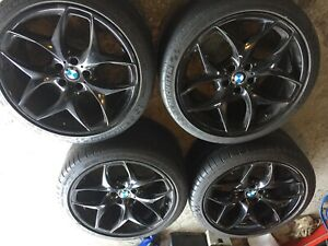 BMW style 215 21 inch rims and tires X5 &X6