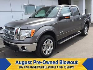 2012 Ford F-150 Lariat Moonroof. EcoBoost. Trailer Tow.