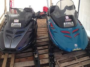 Skidoo Touring E's & Trailer package
