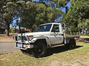 Toyota HZJ79R 4.2 Diesel low Km IMMACULATE urgent Leeming Melville Area Preview