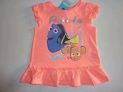 Cute Little Mädchen Kleider (Disney FINDING DORY Cute Little Fluorescent Little Girls Top NWT)
