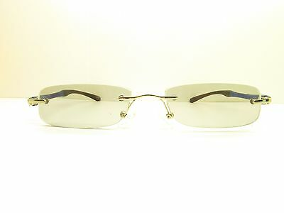 ZENNI rimless DESIGNER Eyeglasses Eyewear FRAMES 50mm TV3 50586
