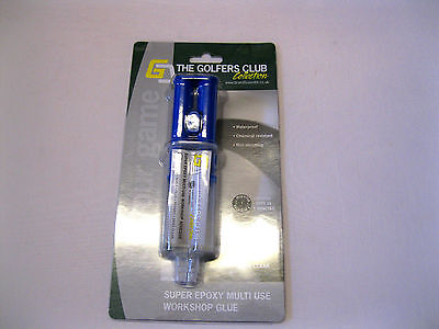 The golfers Collection Epoxy Shaft Repair Workshop Glue- Quick Setting Time.