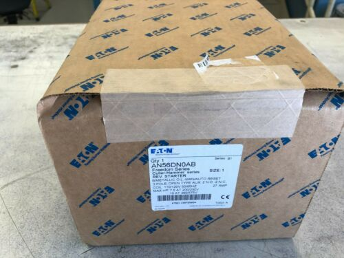 Eaton AN56DNOAB Size 1 Reversing Starter New In Box AN5DN0AB New In Box