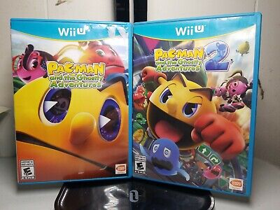 Pac-Man and the Ghostly Adventures 1 & 2 (2 games) (Nintendo Wii U, 2013)