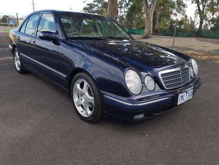 2001 Mercedes-Benz E200K Sedan Traralgon East Latrobe Valley Preview