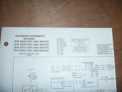 Bobcat 435 Excavator Electrical Wiring Diagram Schematic Manual Sn 562611001-up
