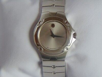 "Movado Woman's Sports Edition 30mm ""Swiss Made"" Stainless Steel Watch L@@K!!!"