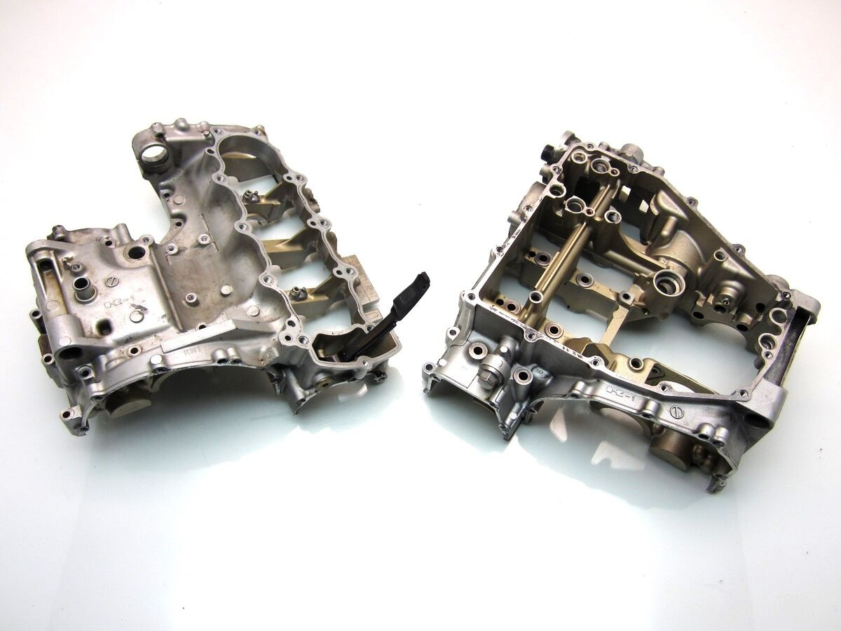 MTD 05 06 ZX 6R 636 zx6r Engine Crankcase Crank Case Cases Set