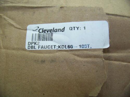Cleveland Double Faucet; KDL60-100T DPK2