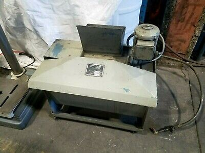 Jones-shipman Coolant Circulating And Cleaning Tank For Surface Grinder Or Mill