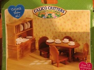 Calico Criters dining set