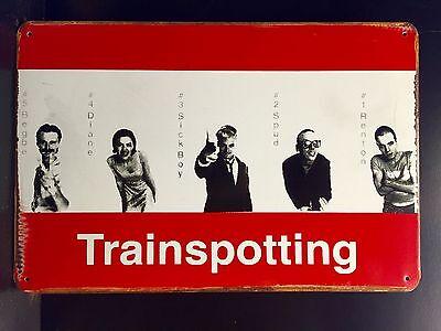 Trainspotting  Classic Movie Metal Poster, Wall Decor Garage Metal Sign 30x40cm