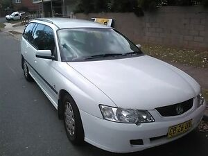 Ideal Backpacker Car: 2003 Holden Commodore Wagon Curl Curl Manly Area Preview