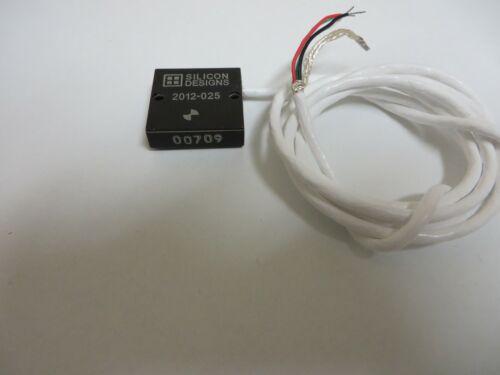 New Silicon Designs 2012-025 accelerometer