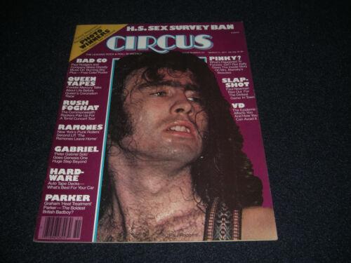 QUEEN TAPES  RUSH  RAMONES  Circus Magazine March 1977