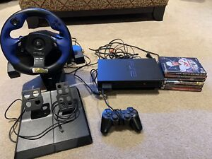 PS2, Controller, Games and steering wheel