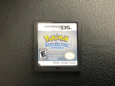 Pokemon Soul Silver Nintendo DS - tested and working Games competitive toys