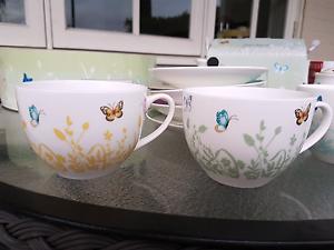 Ashdene TEA SET - 4 x cups & saucers, milk jug, sugar bowl  - NEW Mosman Mosman Area Preview