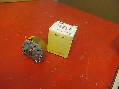 OHMITE POWER TAP SWITCH 212-3 150V VOLTS 20A A AMPS NEW IN BOX