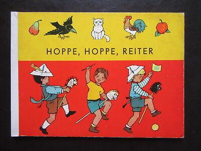 Hoppe,Hoppe,Reiter-alte Kinderreime-Meyer-Rey-DDR Bilderbuch...