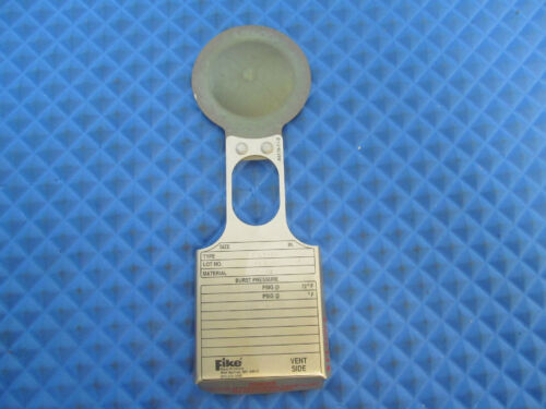 "New Fike Rupture Disc POLY-SD 1.5"" 245.50 PSIG Free Shipping"