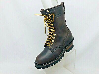 EUC Whites Hathorn Explorer Brown Boots Leather Packer Logger Woodland Sz 7.5 D