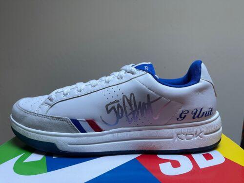 DS Reebok G6 50 Cent G-Unit Signed Autographed Shoe sz 11.5 Power Dr Dre Eminem