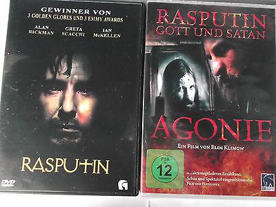Rasputin - 2 Filme - Zarenhof St. Petersburg, Revolte, Alan Rickman, Russisch online kaufen
