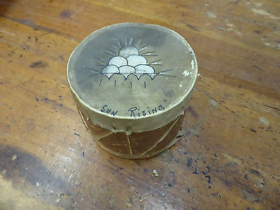 Vintage Sun Rising Drum Indian-made by Winona circa 1920s