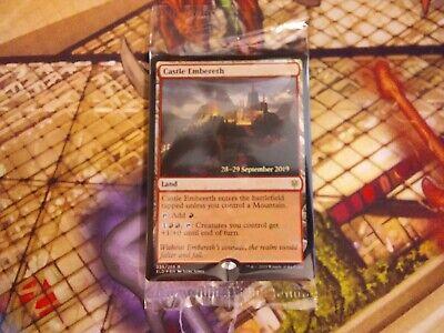 MTG: Castle Embereth (Throne of Eldraine Prerelease Foil) Magic - Sealed