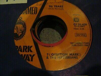 "7"" - ? (Question Mark) & The Mysterians – 96 Tears - VG+ - CP 25.429 HOLLAND"
