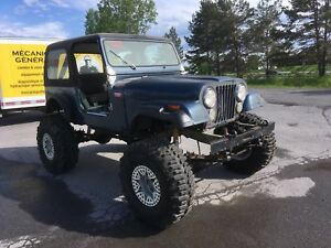 Jeep CJ7 - HORS ROUTE / TRAIL / MUD DRAG