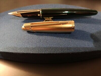 Waterman Edson Emerald Green - Probably the best fountain pen ever (Best Waterman Fountain Pen)