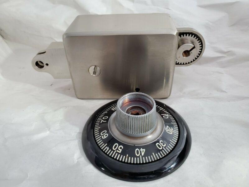 Vintage 1957 Sargent Greenleaf S&G Safe Bank Vault Lock 4-Wheel, Indirect Drive