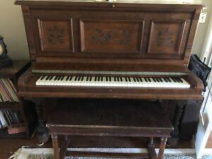 Upright Cabinet Grand Piano