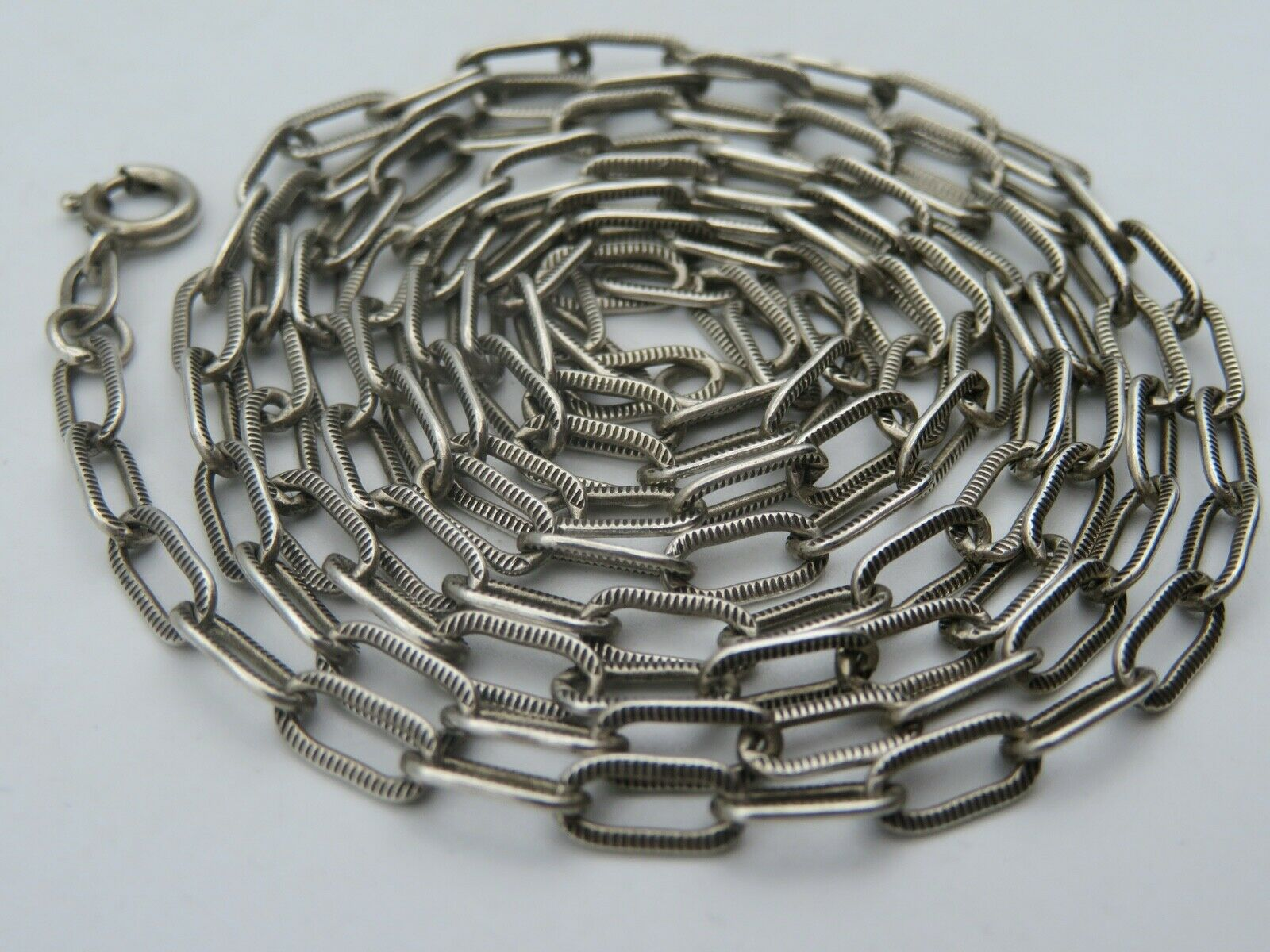 80 cm. Silber 835 Kette