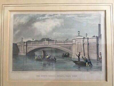 Antique picture, Dublin, The Kings Bridge