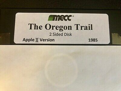 The Oregon Trail / Works on all Apple II, IIe, IIc, & IIgs Computers