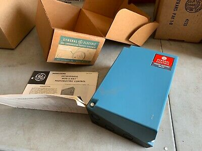 Ge 3s7505pg820a6 Mod-u-ray Photoelectric Control Relay Nos