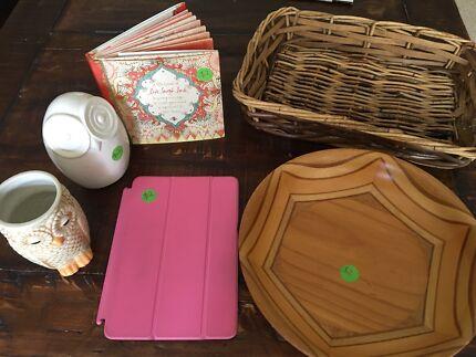 Homeware items