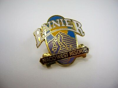 Vintage Collectible Pin  Mount Rainier Naco West Resorts