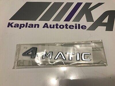 2208171015 Mercedes Schriftzug 4 MATIC Chrom Buchstaben Zahlen Heckdeckel Emblem