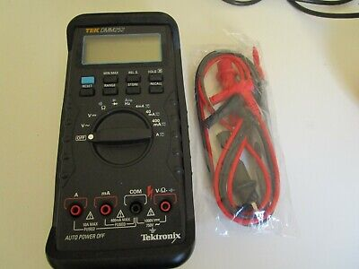 Tektronix Dmm252 Multimeter Calibrated